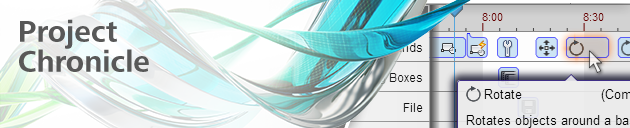 Autodesk Research Project Chronicle Banner from Autodesk Labs