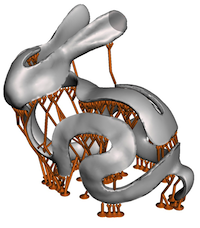 Autodesk Research Publication on 3d Printing Support Structures