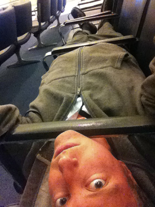 Chairs are often designed with poor ergonomics to make sleeping in public places uncomfortable