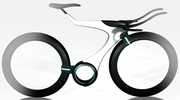 Autodesk Research Project Dreamcatcher Bicycle Frame