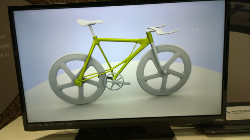 Autodesk Research Bicycle Frame Autodesk University
