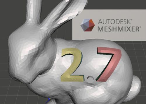 Autodesk Meshmixer 2.7