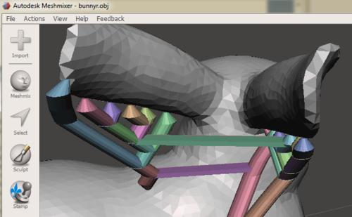 Autodesk Meshmixer Horizontal Support