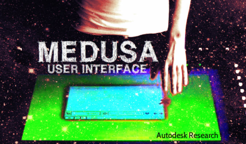 Medusa Autodesk Research Multi-touch user interface