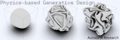 Autodesk Research Nucleus Physics Generative Design