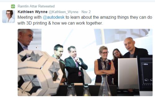 Autodesk Ontarion Premier Wynne