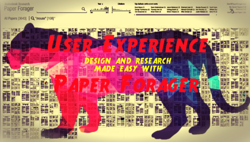 Autodesk Research Paper Forager for User Experience Design