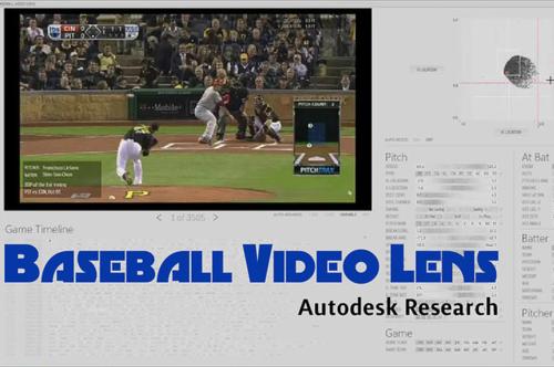 Autodesk Research Baseball Video Lens