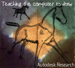 Teaching the computer to draw Autodesk Research