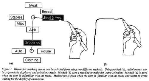 Marking Menus Autodesk Research