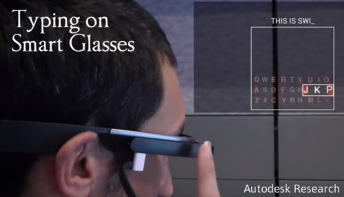 Autodesk Research Smart Glasses