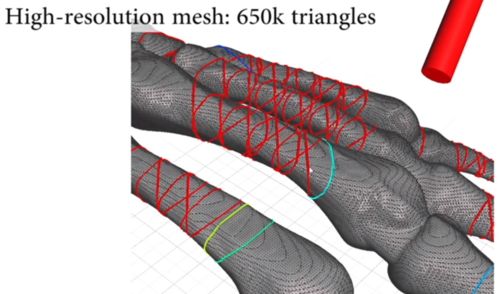 meshmixer structural analysis