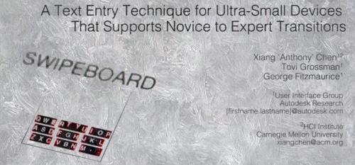 Autodesk Research Swipeboard Title