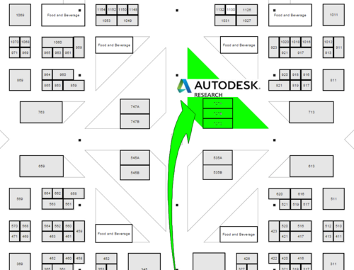 AU 2015 Map to Autodesk Researc